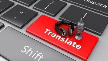 3d-word-translate-with-mic-headphones-computer-keyboard