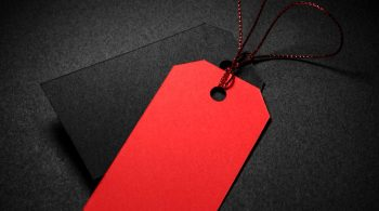 high-view-red-black-price-tags-with-shadow